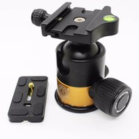 Wholesale QZSD Q10 Professional Panoramic Photo Tripod Ball Head With Quick Release Plate Max Load KG mm Ball Dia For Benro Manfrotto