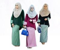 baju kurung - 2016 latest design women muslim dress design fashion model baju kurung modern abaya facotry directly selling