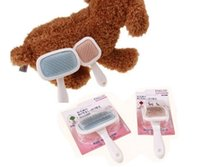 Wholesale Dog combs Teddy dog brush pet comb Dog Cleaning rotation Hair removal brush colors size