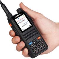 Wholesale Color display walkie taklie transceiver W CP UV2000 VHF UHF Three Band MHz two way radio