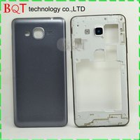 apple store batteries - BQT Store For Samsung Galaxy Grand Prime G530 Middle Bazel Frame With Back Battery Housing Cover Case Door