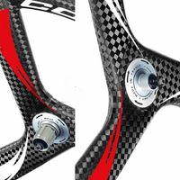 Wholesale 2016 hot sale Super carbon spoke wheel c fast delivery fixed gear tri spoke carbon wheels ud k k spoke bicycle wheel