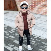 baby wearing coat - 2017 Autumn And Winter Children s Wear Children s Baby Boy Cotton Padded Jacket Winter Jacket hot style trend On ins