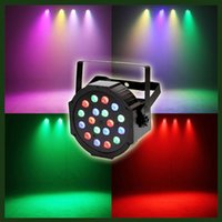 beam par - 18LED Par Can Wash beam Lights for Dj Disco Show Club Bar Stage Lighting with RGB Magic Effect and DMX512