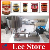 Wholesale High Quality Horizontal Pneumatic Auto Paste Cosmetic cream Filling Machine ml cosmetic filler cream filler by DHL