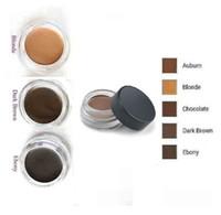 Wholesale 2017 hot sell Pomade Medium Brown Waterproof Makeup Eyebrow g Auburn Blonde Chocolate Dark Brown Ebony colors In Stock
