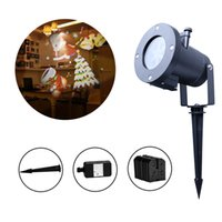 Wholesale Holiday Landscape Projector Outdoor Waterproof LED Spotlights Switchable Pattern Slides Christmas Lights For Home Decoration