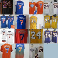 Rugby anthony for men - A High Quality new arrival Carmelo Anthony jerseys autograph Stitched for mens