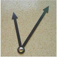 Wholesale set Simple DIY Quartz Wall Clock Movement Mechanism Replace Part Repair Tool Kit with Black Hands Arrows Silent