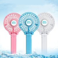 Wholesale Rechargeable USB Mini Portable Foldable Electric Hand Held Pocket Fan Makes You Have Cool Summer