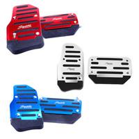 Wholesale Car Non slip Pedal Manual Car Brake Clutch Accelerator Alloy Antiskid Foot Treadle