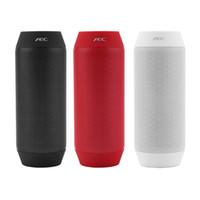 Wholesale BQ AEC Portable Mini Speaker USB Rechargeable Bluetooth Speaker NFC HiFi Bass Subwoofer with LED Light TF Card FM Radio AUX