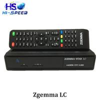 al por mayor cajas de cable digital-ZGEMMA STAR LC DVB-C Linux Enigma 2 HD Cable digital Receptor PVR Set Top Box sintonizador de cable Linux Cable tv Receptor zgemma LC