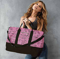 Wholesale Women Victoria Big Travel Bags designer pink High Quality Tote Ladies Canva Bag Summer Casual Beach Exercise VS