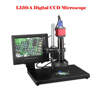 Wholesale L130 A professional digital electronic video CCD microscope and repair industrial manufacturing and testing of metal jewelry special