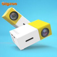 Business & Education best gaming card - Gigxon G19 YG best gift support full HD P LED LCD mini projector AV USB SD card HDMI