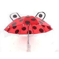 Wholesale Christmas Eve For American Girl Doll Accessories Inch Cartoon Umbrella Acc Xmas Girl Toy Props Umbrella Gift
