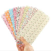 bamboo tape - mm New Sweet Bamboo Flower series paper Envelope card bag gift bag office school supplies