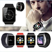 iOS - Apple Italian Sleep Tracker GT08 smart watch Clock Sync Notifier with Sim Bluetooth Smartwatch for Apple IOS xiaomi Samsung Android Phone PK DZ09 A1 Smart Watch