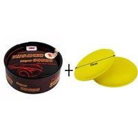 Wholesale Car Polishing Wax Scratch Repair Agent Paint Waterproof m Crystal Hard Wax Waxing Foam Sponge Applicator Pads