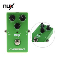 Wholesale Electronic New NUX OD Overdrive Guitar Guitarra Violao Electric Effect Pedal Ture Bypass Green Musical Instrument Parts