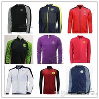 arsenal soccer clothing - 16 Arsenals two kinds jacket Mens top thailand quality soccer training jerseys soccer sweater Training clothes Soccer Jerseys
