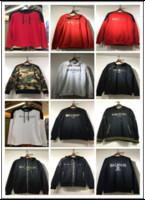 Wholesale Fashion Men Balmain Sweater Casual Long Sleeve Pullover Sweater Cotton Hoodies Sweatshirts Hoodey Winter Thick Velvet Balmain Hoodie Jacket