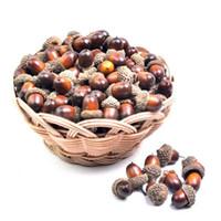 acorn fruit - Mini Acorn Artificial Vegetable Fruit Home Garden Decor Christmas Decoration Craft DIY Accessories