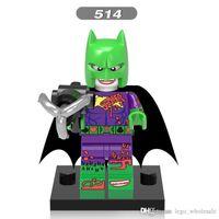al por mayor comodín estrella-Venta al por mayor 10pcs Star Wars super héroes DC Marvel Avengers Joker Batman figuras modelos establece bloques de construcción Ladrillos juguetes