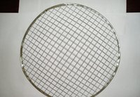 Wholesale Stainless Steel Barbecue Network Shaped Network Customized Barbecue Wire Mesh Round Square Rectangle Curve Netting for Food