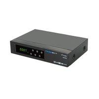Wholesale 20pcs Freesat V7 combo ATSC powervu dvb s2 ATSC DVB Satellite Receiver cccam newcam iptv For America Canada EU USA pk Openbox v9s v8s