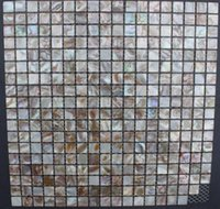 Wholesale Cheap mm Square Brown Mother of Pearl Shell Tiles
