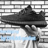 Cheap Original Adidas Yeezy 350 Boost Shoes Pirate Black Turtle Dove Moonrock Oxford Tan Womens Mens Running Shoes Kanye West Yzy 350 Yeezys