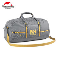 barrel bag gym - NatureHike Nylon Foldable Bags Large Capacity Gym Bag Sports Bags Women Portable Single Shoulder Barrel Gym Totes Sport Bag
