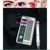 Wholesale Fast Shipping Digital Permanent makeup Cosmetic Kits eyebrow microblading pens lip eyebrow eyeline cosmeticos make up machine