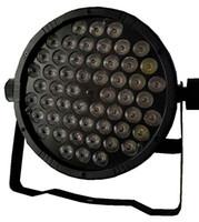 Wholesale DJ DISCO LIGHT DMX LED PAR LIGHTS RGBW x W PARTY STAGE EFFECT COLORFUL BEAM PLASTIC CASE