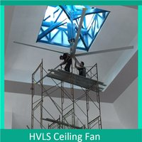 Wholesale 17 Patent Save System Trops Titan Industrial Roof Ceiling Fan with Controling Box Ceiling Fan Factory Prices