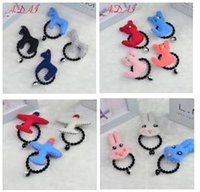 airplane hair - Kids Wool Cartoon Hair Band Horse Cat Airplane Shape Girls Boutique Hair Band Korean New Novelty Kids Hair Accessories