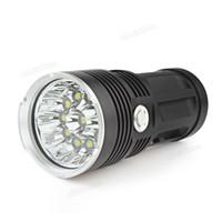 Wholesale SKYRAY Waterproof Super Bright x XML T6 LED Hunting Fishing Flash Light Torch LEF_00E