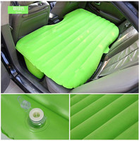 Black auto electric parts - Car travel inflatable bed air mattress with electric Pump pillow for sleeping in car travel auto part