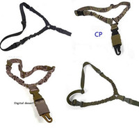 Sling american rifle - High strength QD tactical One Single Point CQB sling for Tactical American style Adjustable Bungee for US Army Rifle System Point Strap Mult
