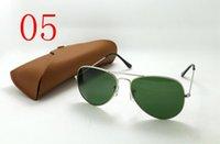 achat en gros de lunettes de soleil en acier inoxydable-Lunettes de soleil en acier inoxydable des femmes des hommes d'acier inoxydable de taille de rasoir de lunette de verre de haute qualité non-classiques libres de gafas de sol.