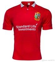 best british - Best Thai quality Irish Lions rugby jerseys new Zealand rugby shirts British Irish Lions jersey