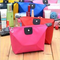 El bolso cosmético del embrague de la bolsa del bolso de los bolsos del maquillaje de la señora Travel de las nuevas mujeres del caramelo empaqueta el tipo regalo cosmético del bolso de la bolsa
