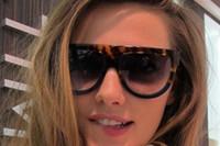 Vidrios del partido Baratos-2017 Gafas de sol del ojo de gato de las mujeres de las gafas de sol de la manera de Eyewear de la marca de fábrica de la mariposa Protección de Oculos UV400 de la protección de las gafas de sol de la más alta calidad