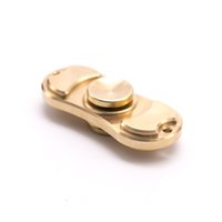 Wholesale 2017 Decompression Toy Hand Spinner Rotate over Mins Made of Fine Copper Metal for Release Fidget Finger Rotation Toy VL46334677