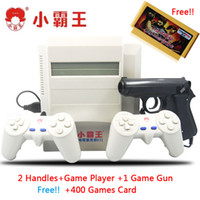 Wholesale NES bit video game system classic game console Subor D31 Double kill with light gun free in1 game card