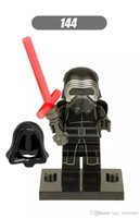 Vente en gros 10pcs Star Wars Super Heroes DC Marvel Kylo Ren action Figures Avengers Building Blocks Sets Bricks Toys For Children