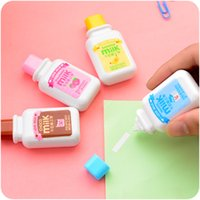 Wholesale Milk drink correction tape Kawaii stationery Office material School supply corrective escolar cinta papeleria