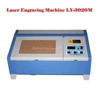 Wholesale New Upgraded New Version W LY M CO2 Digital laser engraving cutting machine engraver upgraded on LY normal version